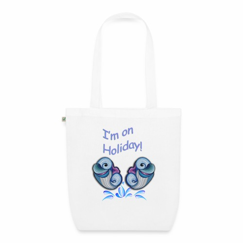 I'm on holliday - EarthPositive Tote Bag