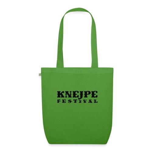 Knejpe Festival logo - sort - Øko-stoftaske