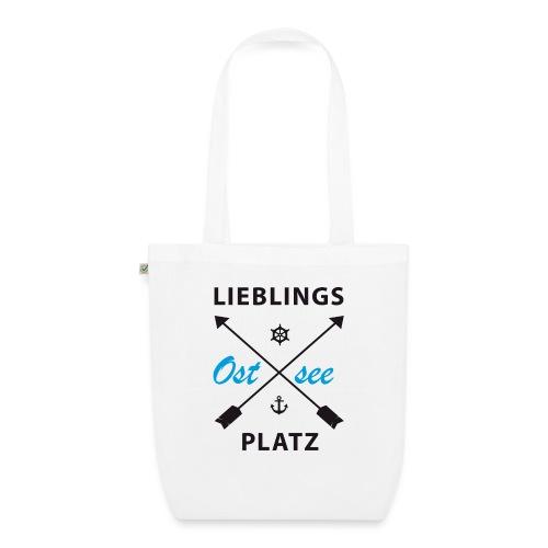 Lieblingsplatz Ostsee - Bio-Stoffbeutel