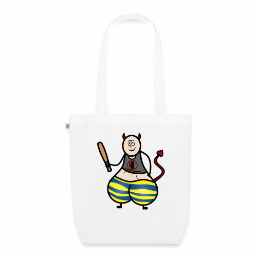 Devil No Touchies Charlie - EarthPositive Tote Bag