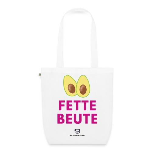 Fette Beute (hell) - Bio-Stoffbeutel