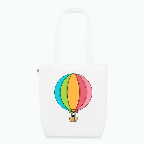 Zebra Zach Air Balloon - Ekologisk tygväska