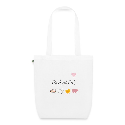 Friends not Food - Bolsa de tela ecológica