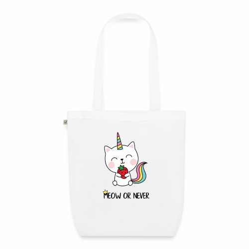 Meow or never - Bio-Stoffbeutel