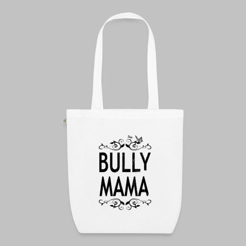 Stolze Bully Mama - Motiv mit Schmetterling - Bio-Stoffbeutel