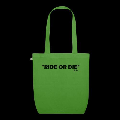 Ride or die (noir) - Sac en tissu biologique