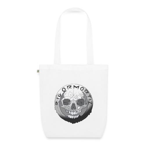 Rigormortiz Black and White Design - EarthPositive Tote Bag