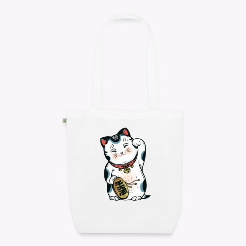 The Lucky Cat - EarthPositive Tote Bag