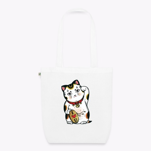 Love Lucky Cat - EarthPositive Tote Bag