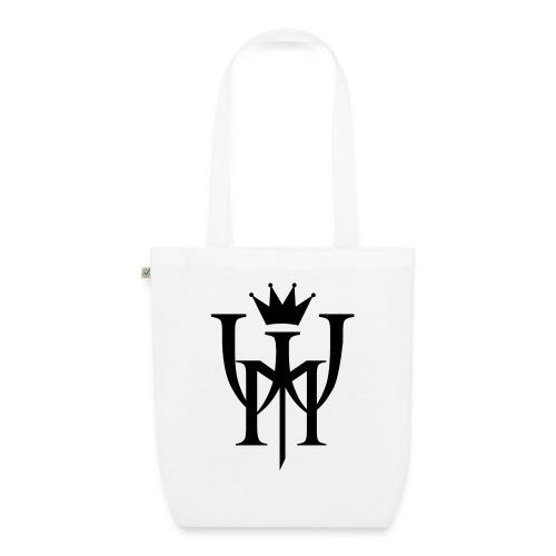 Logo MW Czarne - Ekologiczna torba materiałowa