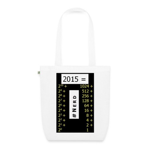 2015 Nerd3 jpg - Bio-Stoffbeutel
