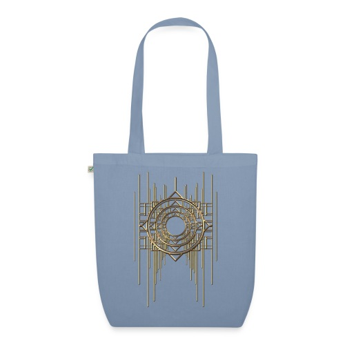 Abstract & Geometric - Gold Metal - EarthPositive Tote Bag