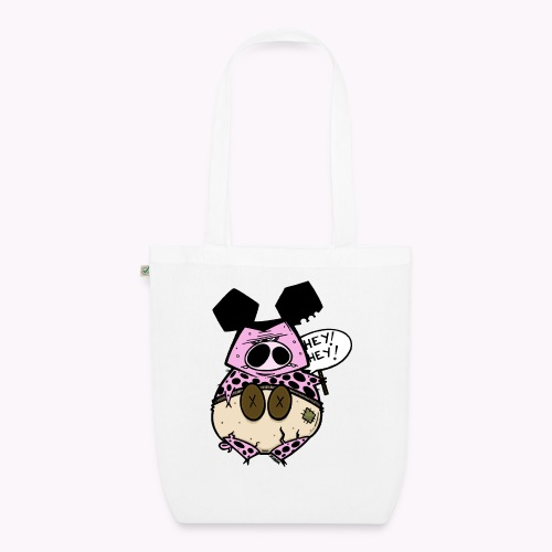 ugly pig col - Borsa ecologica in tessuto