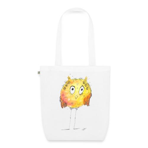 Happy yellow bird - Bio-Stoffbeutel