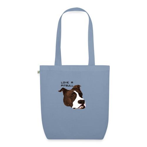 Love a Pitbull - Ekologiczna torba materiałowa