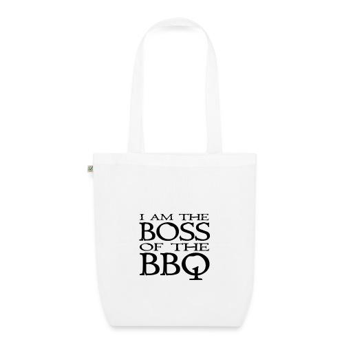 I am the Boss of the BBQ - der Chef am Grill - Bio-Stoffbeutel