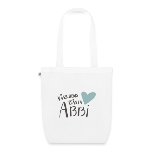 Världens bästa Abbi - Ekologisk tygväska