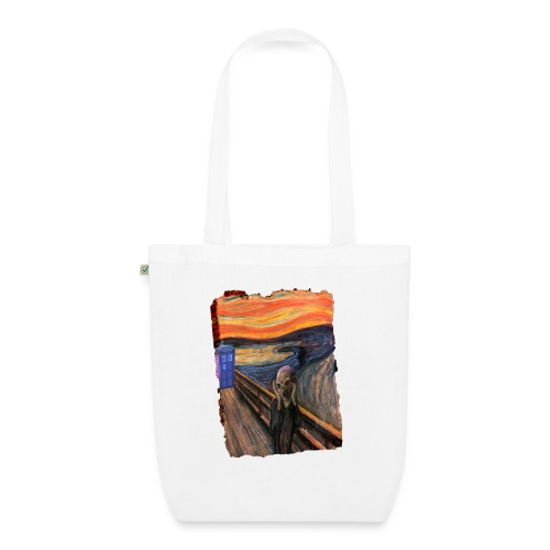 Screaming Tardis - EarthPositive Tote Bag