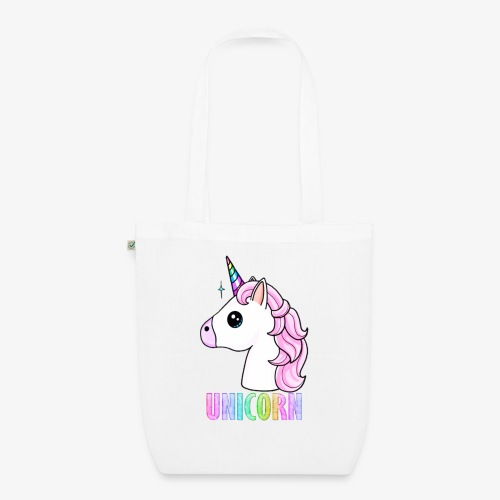 Unicorn - Borsa ecologica in tessuto