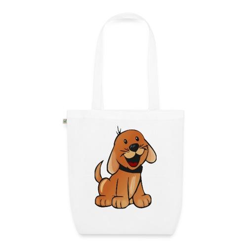 cartoon dog - Borsa ecologica in tessuto