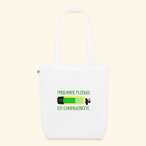 plongee en charge - EarthPositive Tote Bag