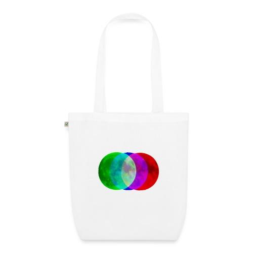 RGB moon - Ekologiczna torba materiałowa