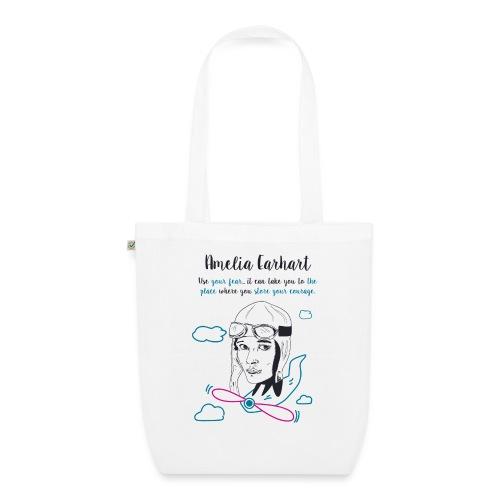 Amelia Earhart - EarthPositive Tote Bag