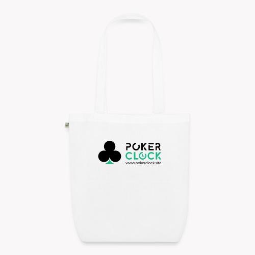 Poker Clock Logo - Bio-Stoffbeutel