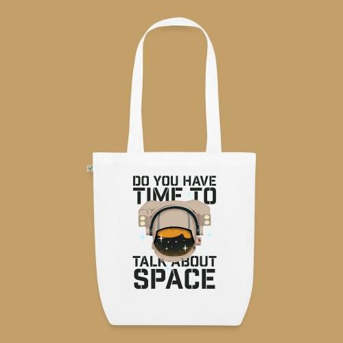 Time for Space - Ekologiczna torba materiałowa