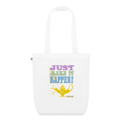 JUST make it happen! - Bio-Stoffbeutel