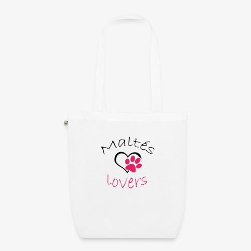 Maltes Lovers - Bolsa de tela ecológica