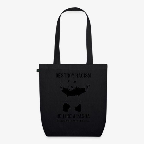 DESTROY RACISM - EarthPositive Tote Bag