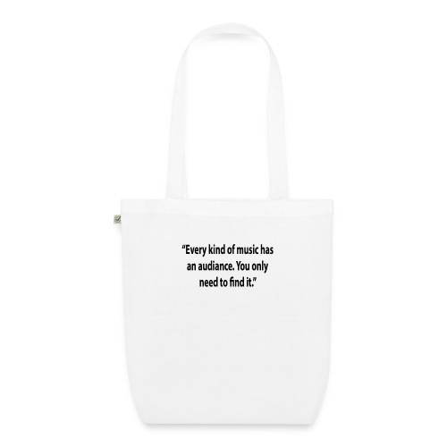 Quote RobRibbelink audiance Phone case - EarthPositive Tote Bag