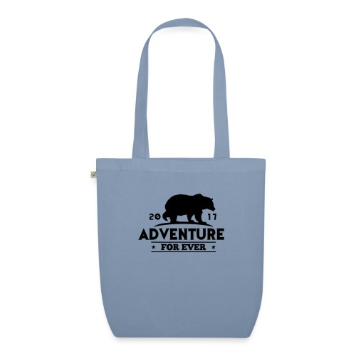 ADVENTURE FOR EVER - GRIZZLY - Borsa ecologica in tessuto