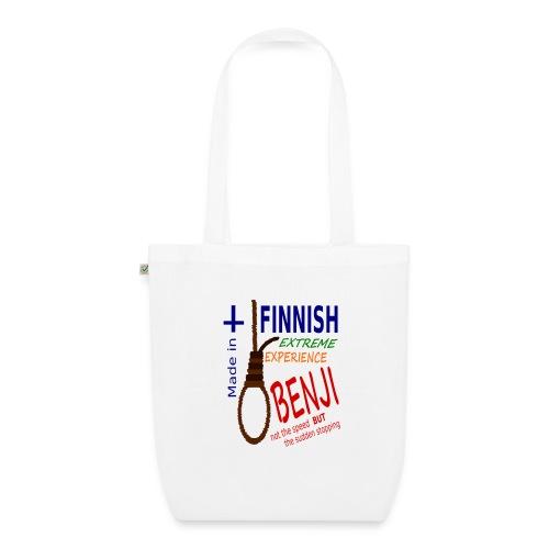 FINNISH-BENJI - EarthPositive Tote Bag