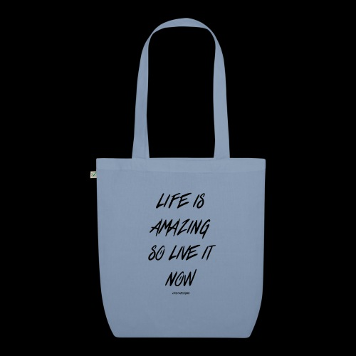 Life is amazing Samsung Case - EarthPositive Tote Bag