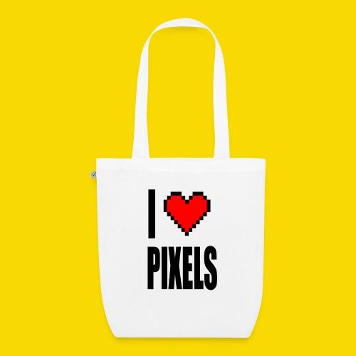 I Love Pixels - Ekologiczna torba materiałowa