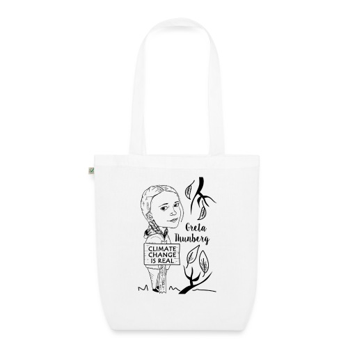 climate change is real - EarthPositive Tote Bag
