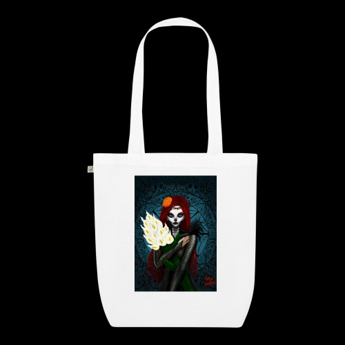 Death and lillies - EarthPositive Tote Bag