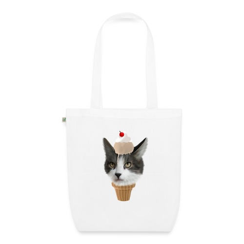 Ice Cream Cat - Bio-Stoffbeutel
