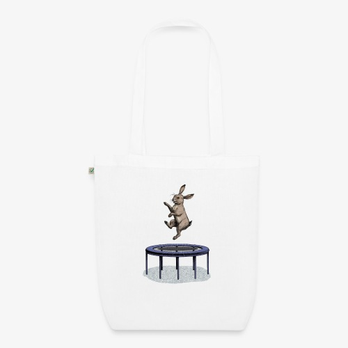Rabbit Trampoline - EarthPositive Tote Bag