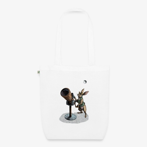 Stargazing Hare - EarthPositive Tote Bag