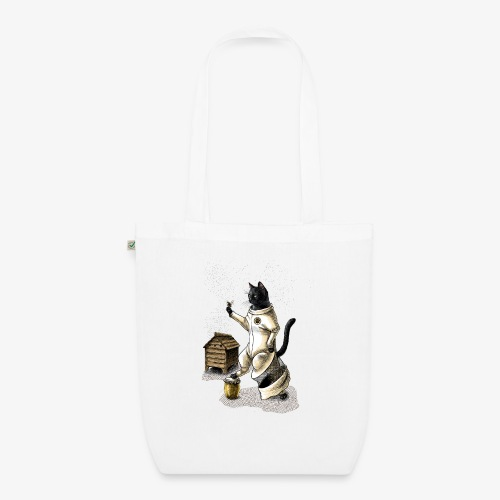 Cat Beekeeper - EarthPositive Tote Bag