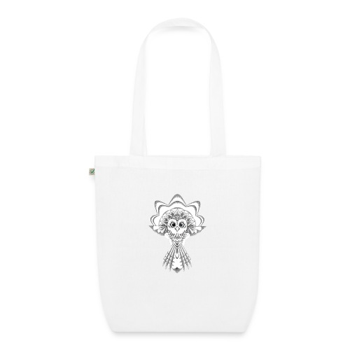 owl dotwork - EarthPositive Tote Bag