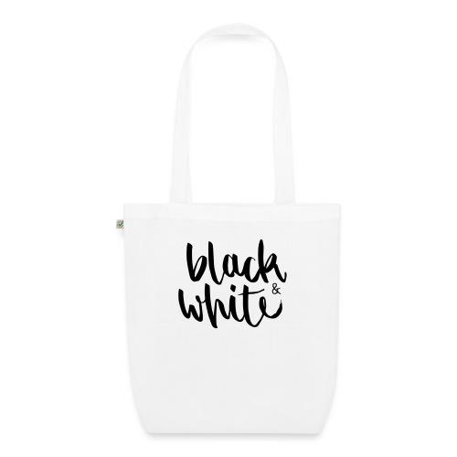 black&white1 - Bio-Stoffbeutel