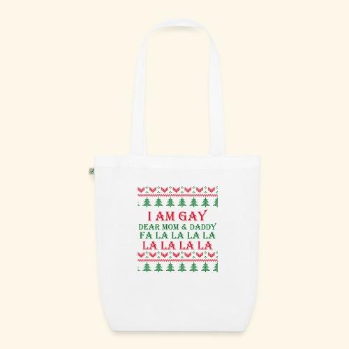 Gay Christmas sweater r+g - Ekologiczna torba materiałowa
