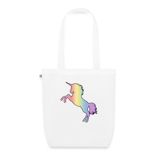 Rainbow Unicorn - Luomu-kangaskassi