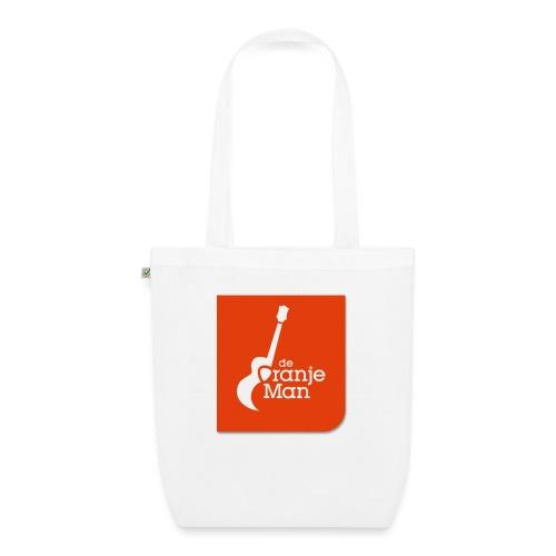 De Oranje Man Wilhelmus Hoekstra Logo Oranje Vlak - Bio stoffen tas