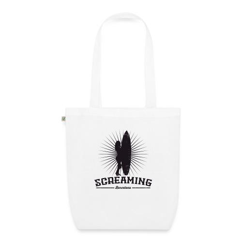 SURFER GIRL TSHIRT - Bolsa de tela ecológica