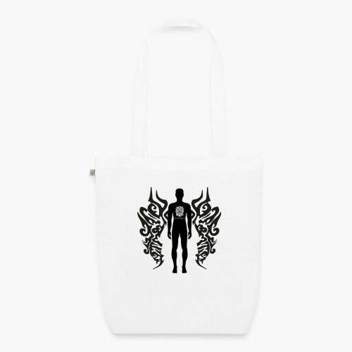Houseology Original - Angel of Music (INVERSE) - EarthPositive Tote Bag